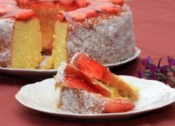 עוגת מיץ תפוזים עם קוקוס