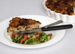 פשטידת תפוחי אדמה ופטריות - פרווה